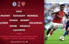 CHÍNH THỨC: Tiếp đón Chelsea, Arsenal chẳng có Ozil lẫn Sanchez