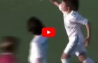 Con trai Marcelo, Enzo ghi hat-trick cho đội trẻ Real