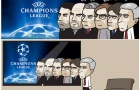 Biếm họa: Buffon xanh mặt vì Messi, Wenger hồi ức về Champions League