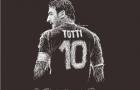 50 'cống phẩm' tuyệt vời CĐV dành tặng Totti (Phần 1)