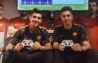 Sao Roma 'chiến' FIFA cùng tuyển thủ eSport