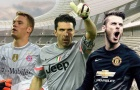 Top 10 thủ môn 'khủng' nhất FIFA 18: De Gea vượt mặt Buffon