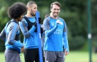 Vắng Vardy buổi tập của Leicester vẫn ngập tiếng cười