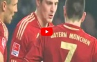 Kroos, Ribery giành quyền đá phạt bằng cách chơi oẳn tù tì