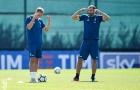 Chiellini 'ra dấu' tập trung trước trận derby thành Turin