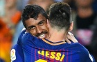 Paulinho sát cánh Messi trong ĐHTB vòng 5 La Liga