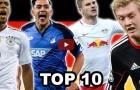 Top 10 tài năng trẻ triển vọng nhất bóng đá Đức
