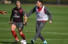 Mesut Ozil hối hả tập luyện, chờ đấu West Brom