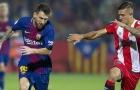 Sao trẻ Girona bị Messi 'tra khảo' ngay trên sân