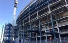 Tốc độ xây đựng đáng nể của sân White Hart Lane mới