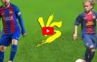 Xavi Simons giống Lionel Messi đến lạ