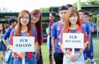 Fan Barca Việt nhuộm 2 sắc đỏ xanh giải bóng đá Barcamania miền Nam