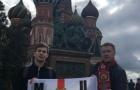 Fan Man Utd ở Nga háo hức đón tiếp đội nhà ở Quảng trường Đỏ