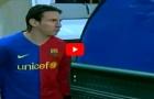 Lionel Messi từng chơi rất hay trước Sporting Lisbon