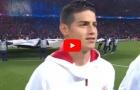 Màn trình diễn của James Rodriguez vs PSG
