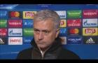Jose Mourinho khá bình thản trận gặp CSKA Moscow