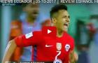 Màn trình diễn của Sanchez vs Ecuador