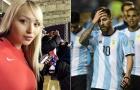 Tình cũ Ronaldo cười nhạo Messi và Argentina