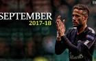 Màn trình diễn của Neymar trong tháng 9