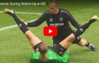 Những cảnh hài hước khó đỡ khi các cầu thủ khởi động