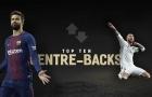 10 trung vệ hay nhất Châu Âu hiện nay: Premier League chỉ có 1 đại diện