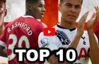 Top 10 tài năng trẻ triển vọng nhất bóng đá Anh