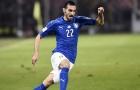 Davide Zappacosta chơi nỗ lực trước Albania