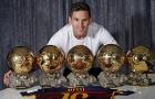 Messi đánh bật Zidane khỏi đội hình huyền thoại 'Quả bóng vàng'