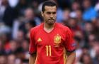 Pedro thể hiện ra sao trước Israel?