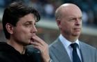 Giám đốc Milan nói gì về tương lai của Montella?
