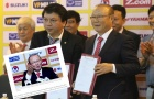 Điểm tin bóng đá Việt Nam sáng 12/10: Báo Hàn Quốc đưa tin đậm về lễ ra mắt của ông Park