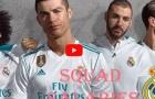 Hé lộ bảng lương của cầu thủ Real Madrid mùa 2017/18