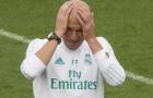 HLV Zidane đau đầu xoay tua đội hình Real