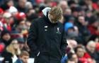 Nếu thua Man Utd cuối tuần này, Klopp sẽ theo chân Rodgers