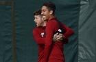 Sao Liverpool mừng rỡ khi Firmino trở lại tập luyện