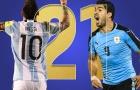 Song sát Messi-Suarez làm cỏ Nam Mỹ