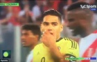 Tình huống Colombia và Peru thi đấu cầm chừng phút cuối