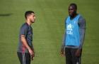 Anh em nhà Hazard rủ nhau 'chơi xấu' Lukaku và Batshuayi