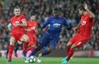 Màn trình diễn của Paul Pogba vs Liverpool mùa 2016/17