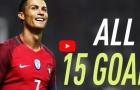 Tất cả các bàn thắng của Cristiano Ronaldo ở vòng loại World Cup