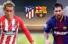 Đội hình kết hợp Atletico - Barcelona: Song sát Griezmann - Messi