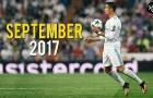 Màn trình diễn của Cristiano Ronaldo trong tháng 9