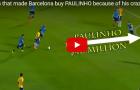 Trận đấu khiến Paulinho có giá 40 triệu euro