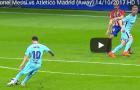 Màn trình diễn của Messi trước Atletico Madrid