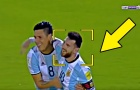 Phản ứng của Lionel Messi khi Argentina đoạt vé dự World Cup