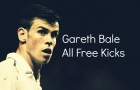 Gareth Bale từng đá phạt siêu đỉnh