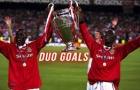 Dwight Yorke và Andy Cole, cặp đôi bá đạo một thời của Man Utd