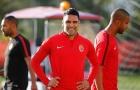 'Mãnh hổ' Falcao đầy tự tin trước giờ đón tiếp đội đầu bảng Besiktas