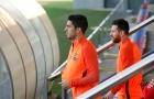 Barcelona tập nhẹ trước lần đầu chạm trán Olympiakos