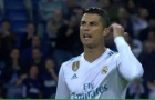Tình huống 'điên máu' của Ronaldo với Benzema